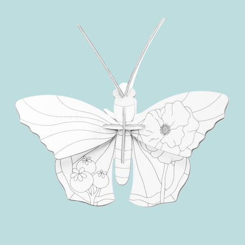 Studio Roof 3D Model - DIY Butterfly