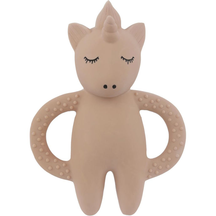 Konges Slojd Natural Rubber Teether - Unicorn