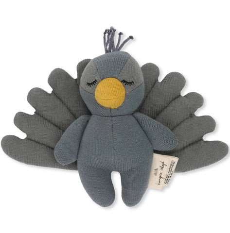 Konges Slojd Mini Peacock Soft Toy