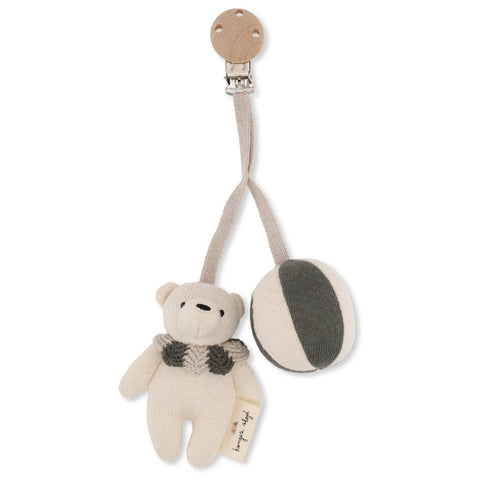 Konges Slojd Bear Pram Toy - Ivy Green