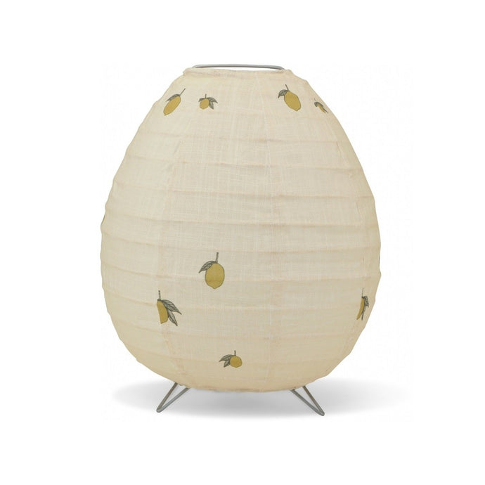 Konges Slojd Fabric Table Lamp - Lemon