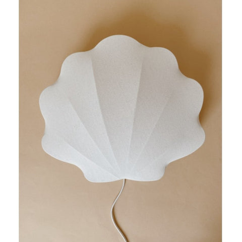 Konges Slojd Fabric Clam Lamp - Off White