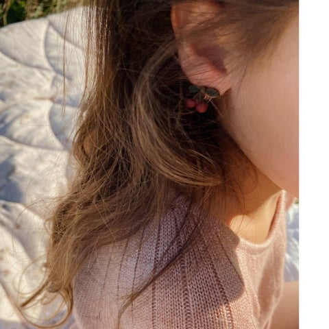 Konges Slojd Clip-On Earrings - Fruit