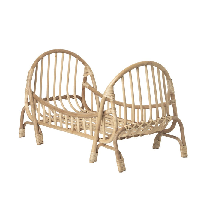 Ferm Living Kuku Rattan Doll Bed