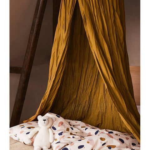 Liewood Enzo Organic Canopy - Olive Green