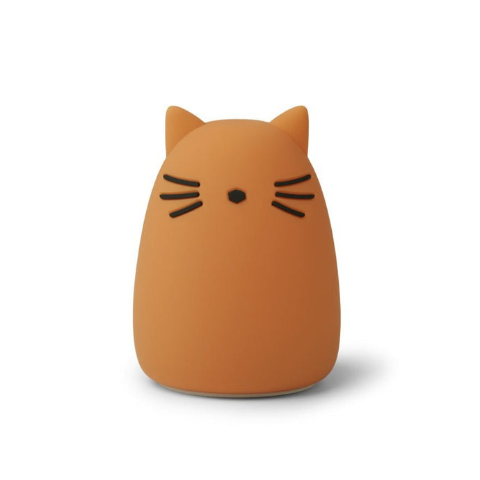 Liewood Winston Night Light - Cat Mustard