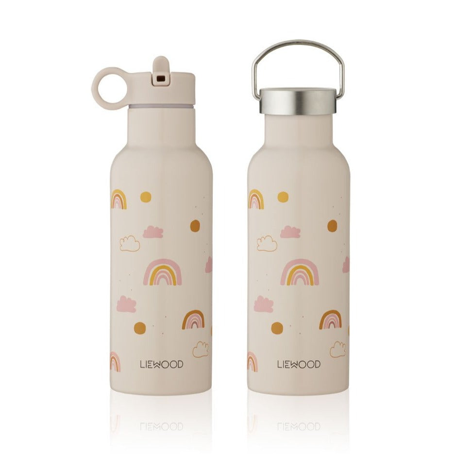 Liewood Neo 500ml Water Bottle - Rainbow Love Mix