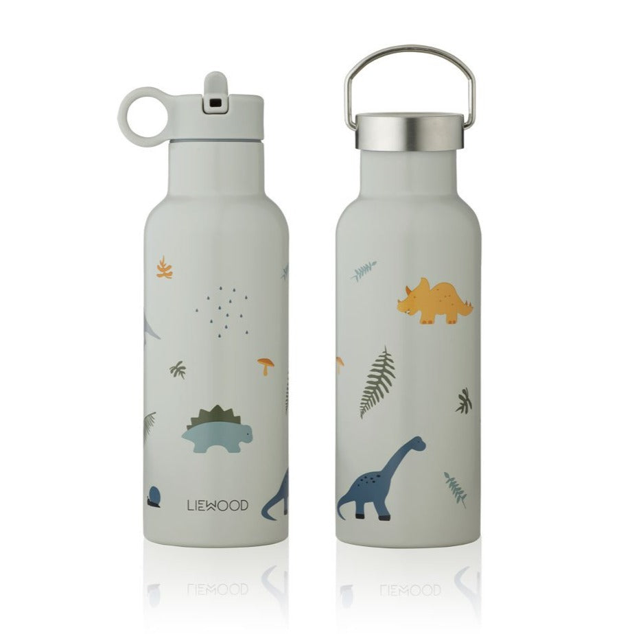 Liewood Neo 500ml Water Bottle - Dino Dove Blue Mix