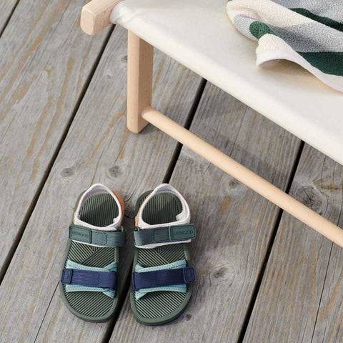 Liewood Monty Sandals - Hunter Green Mix