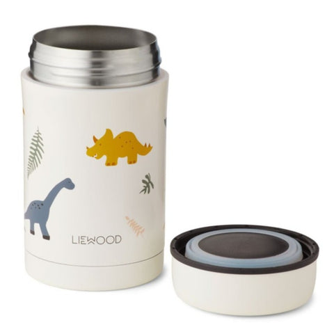 Liewood Bernard 500ml Food Flask - Dino Mix