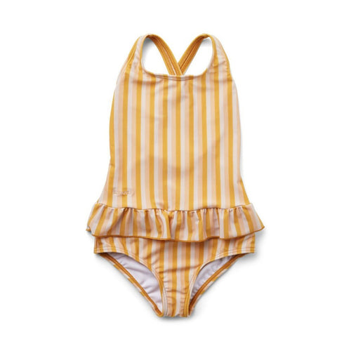 Liewood Amara Swimsuit - Peach/Sandy/Yellow Mellow
