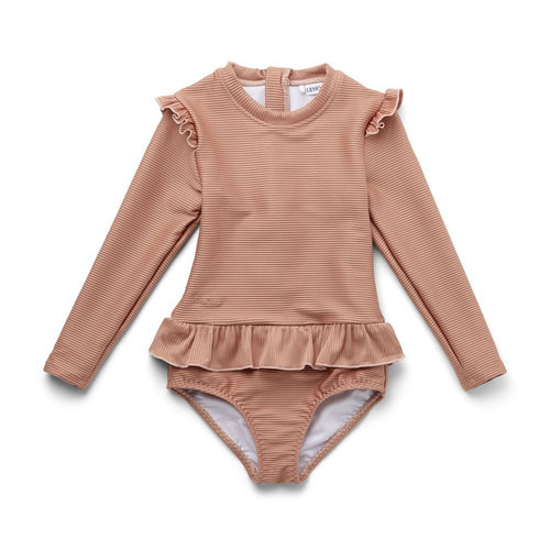 Liewood Sille Swim Jumpsuit Structure - Tuscany Rose