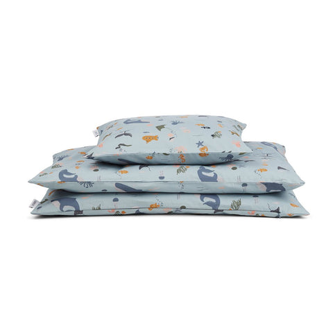 Liewood Ingeborg Junior Bedding Set - Sea Creature Mix
