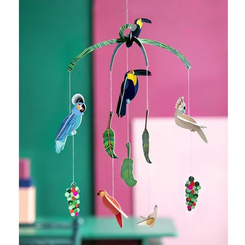 Studio Roof Mobile - Exotic Birds