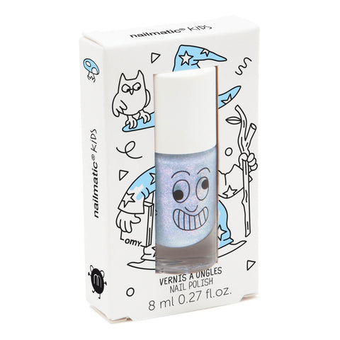 Nailmatic Wash Off Nail Varnish - Merlin (Pearly Blue)