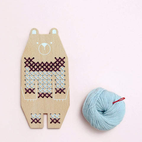 Cross Stitch Friends - Bear by Moon Picnic | Soren's House