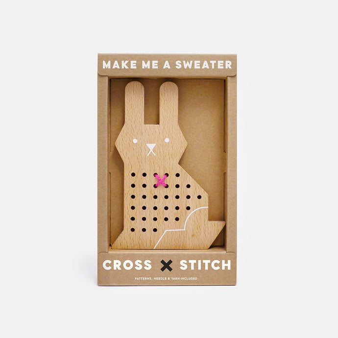 Cross Stitch Friends - Rabbit by Moon Picnic | Soren's House