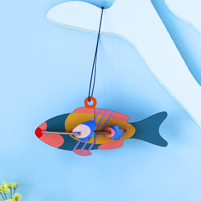 Studio Roof 3D Model Ornament - Fish