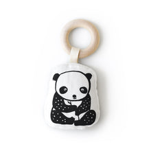 Wee Gallery Organic Teether - Panda | Wee Gallery