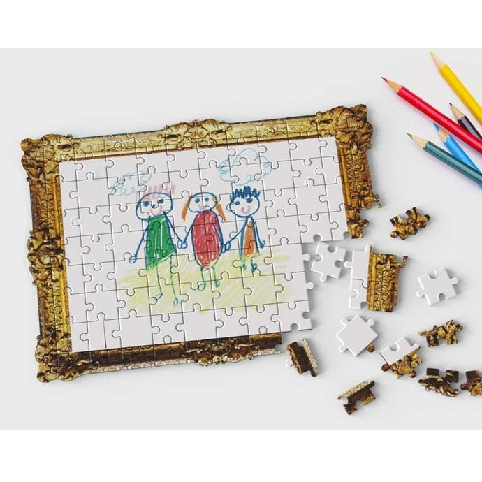 Pikkii Framed Drawing Jigsaw Puzzle