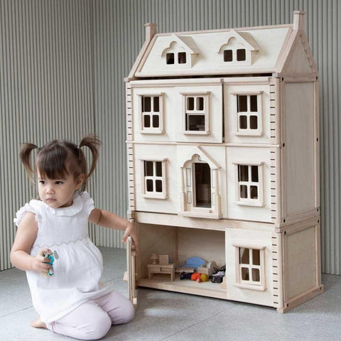 Plan Toys Victorian Dollhouse Basement Floor
