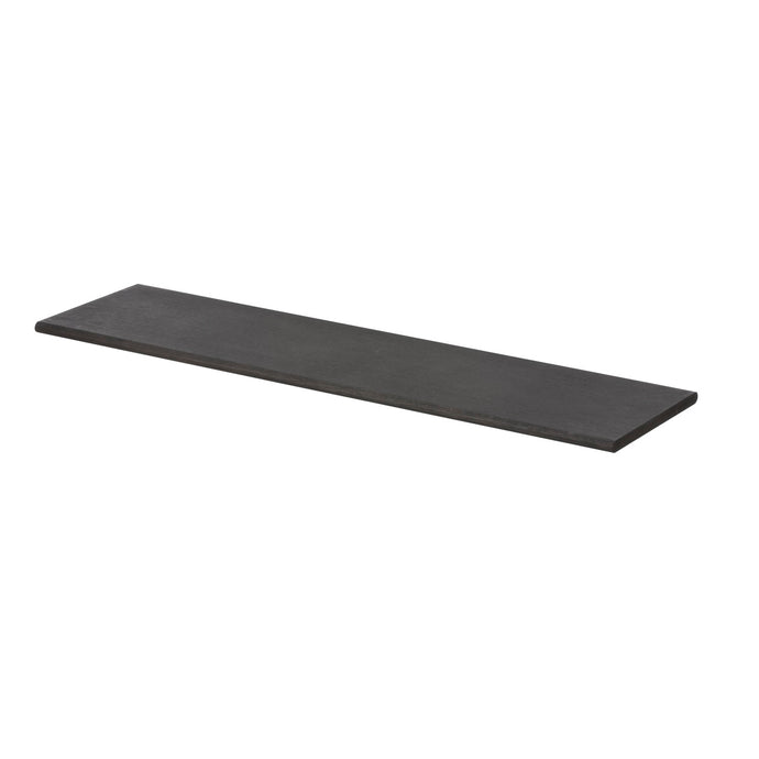 Ferm Living Wooden Shelf - Black Stained Oak