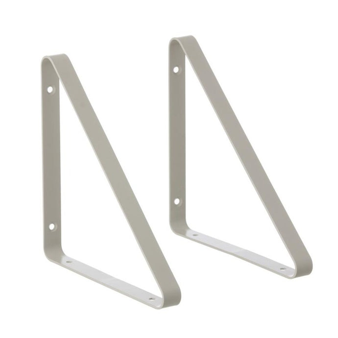 Ferm Living Metal Shelf Hangers - Light Grey