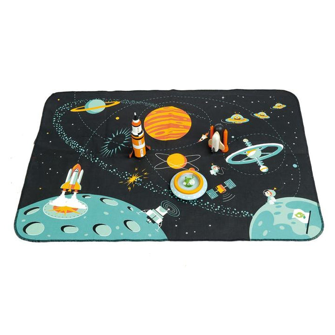 Tender Leaf Toys - Space Adventure Play Mat