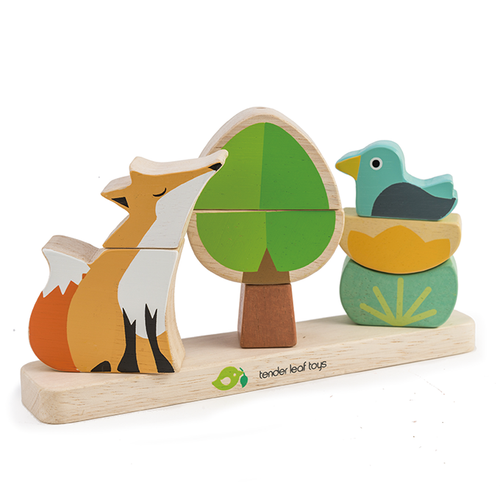Tender Leaf Toys - Wooden Foxy Magnetic Stacker