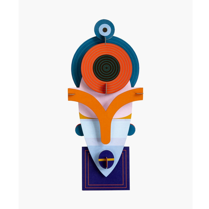 Studio Roof 3D Model Wall Decor - Lamu Mask