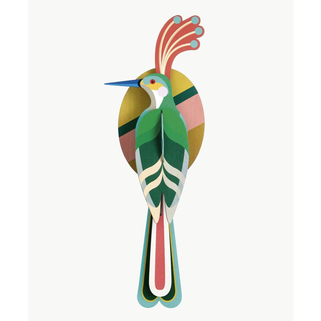 Studio Roof 3D Model Wall Decor - Paradise Bird - Nias
