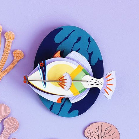 Studio Roof 3D Model Wall Decor - Picasso Fish