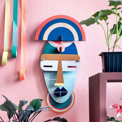 Studio Roof 3D Model Wall Decor - Brooklyn Mask