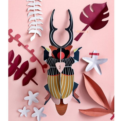 Studio Roof 3D Model Wall Decor - Giant Stag Beetle
