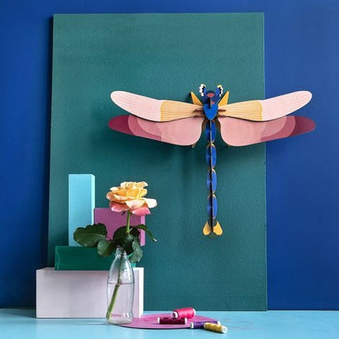 Studio Roof 3D Model Wall Decor - Giant Dragonfly
