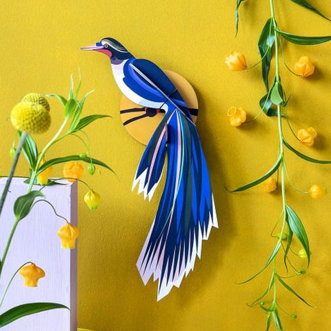Studio Roof 3D Model Wall Decor - Paradise Bird - Flores