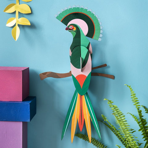 Studio Roof 3D Model Wall Decor - Paradise Bird - Gili