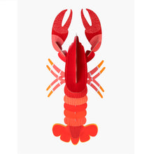 Studio Roof 3D Model Wall Decor - Giant Lobster