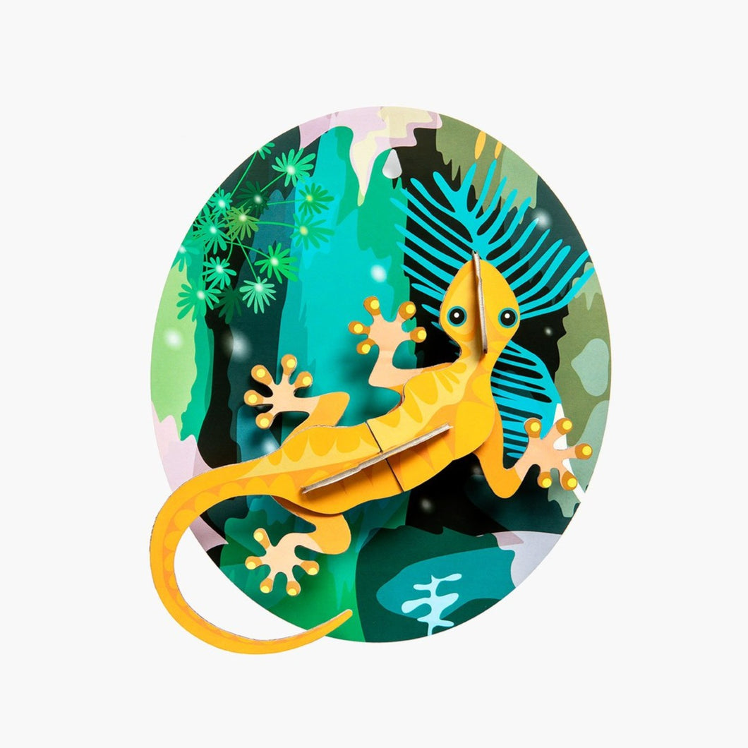 Studio Roof 3D Model Wall Decor - Jungle Gecko