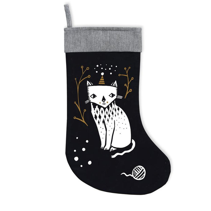 Wee Gallery Kitty Love Stocking