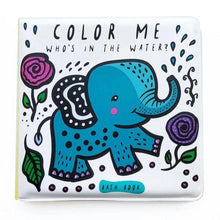 Wee Gallery Colour Me: Who's in the Water? - Bath Book