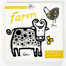Wee Gallery Slide & Play Book - Farm