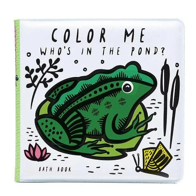 Wee Gallery Colour Me: Who's in the Pond? - Bath Book
