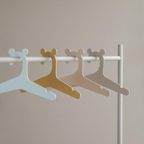 Ferm Living Kid's Clothes Hangers - Set of 5 - Natural