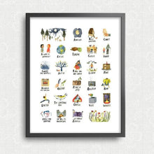 ABC's of Life Print by Little Truths Studio | Soren's House