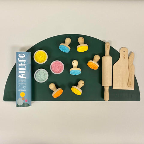 Ailefo Wooden Modelling Clay Tool Set
