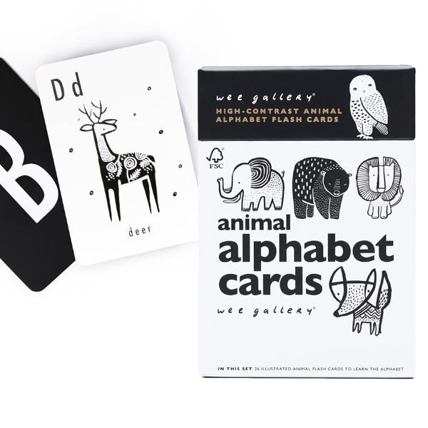 Wee Gallery Animal Alphabet Cards | Soren's House