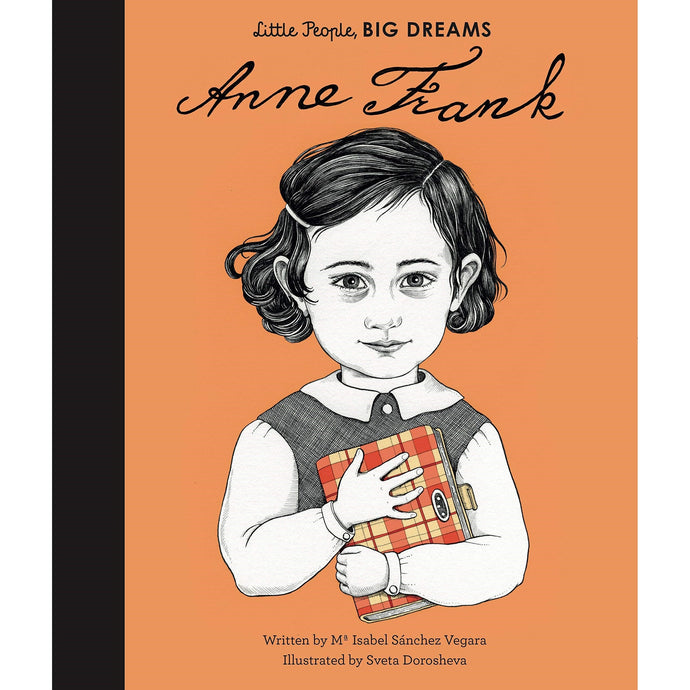 Anne Frank (Little People, Big Dreams) - Children's Hardback Book