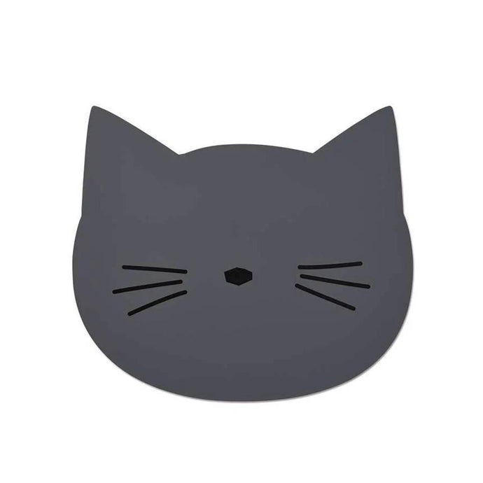 Liewood Aura Placemat - Cat Stone Grey