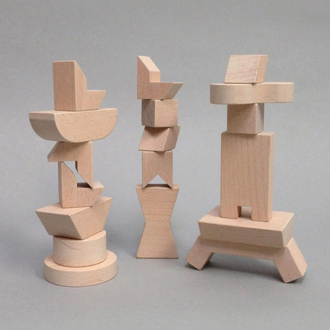 Mini Doll Furniture - Natural - By Rock & Pebble
